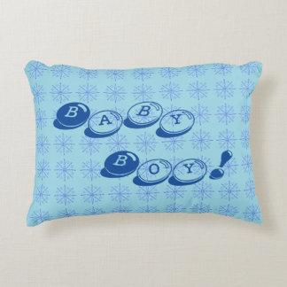 Almohada del azul del bebé