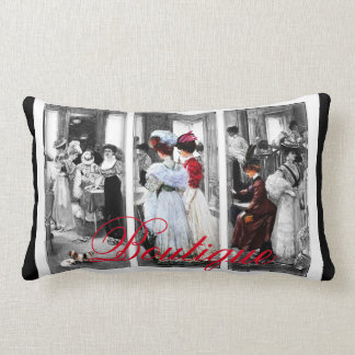 Almohada del boutique del vintage de las mujeres
