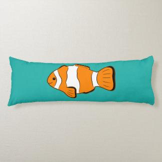 Almohada del cuerpo de Clownfish Cojin Cama