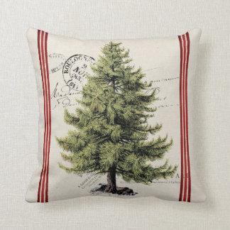 Almohada del día de fiesta de la raya del árbol