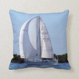 Almohada del dibujo de la navegación