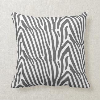 Almohada del estampado de zebra