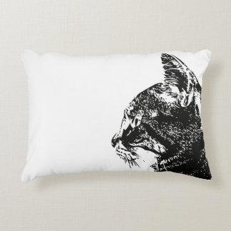 Almohada del gatito del Tabby