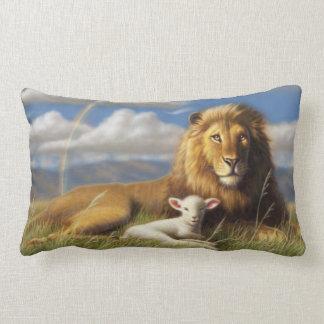 Almohada del león y del cordero