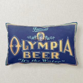 Almohada del Lumbar de la cerveza de Olympia