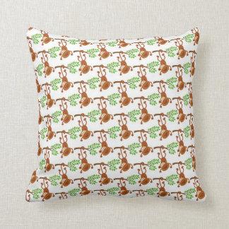 Almohada del mono (personalizada y reversible)