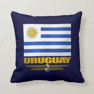 """""""Almohada del orgullo de Uruguay"""" Cojín"""