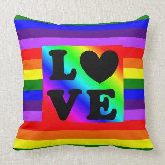 Almohada del orgullo y de la ayuda del corazón