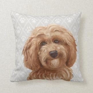 Almohada del perro de Labradoodle/amor de