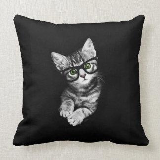 Almohada del tiro del amante del gatito del
