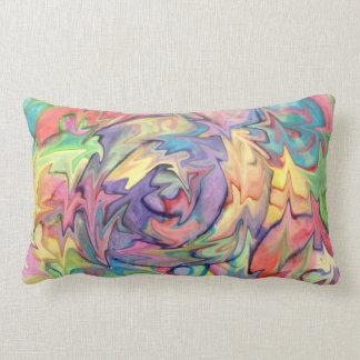 Almohada del vórtice del arco iris