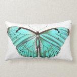 Almohada elegante bonita de la mariposa de la
