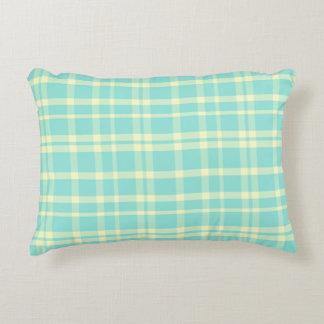 Almohada elegante lamentable del acento de la tela