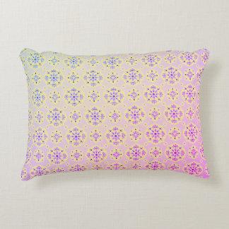 Almohada en colores pastel del acento del vintage