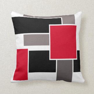 Almohada en estilo abstracto geométrico moderno