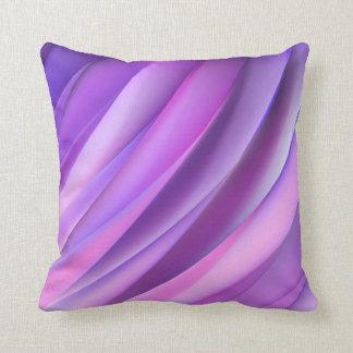 Almohada en estilo abstracto púrpura moderno