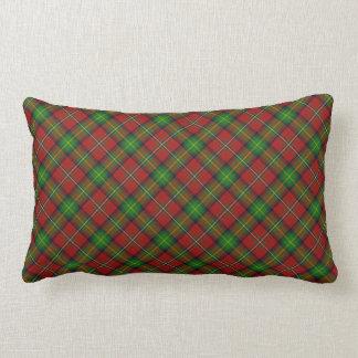 Almohada escocesa del Lumbar del tartán del clan
