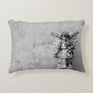 Almohada estatuaria del acento del ángel