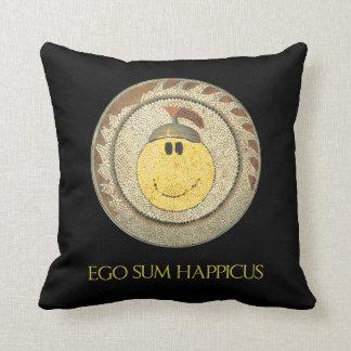 Almohada feliz romana de la cara