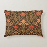 Almohada floral del acento de William Morris