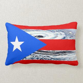 Almohada fuerte del huracán de la bandera de