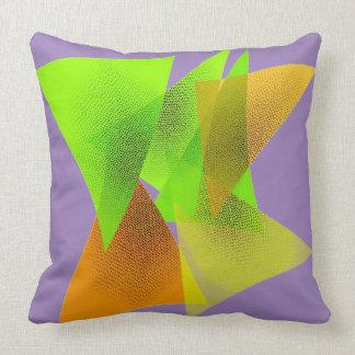 Almohada geométrica del arte para la decoración