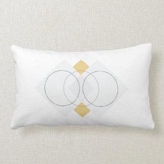 Almohada geométrica inspirada escandinava
