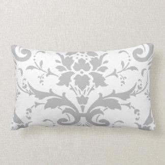 Almohada gris del rectángulo del diseño del
