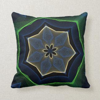 Almohada hermosa abstracta de la oscuridad