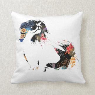 Almohada hermosa del acento del perro