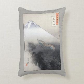 Almohada japonesa del dragón