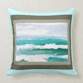 Almohada juguetona 4c de la decoración de la playa