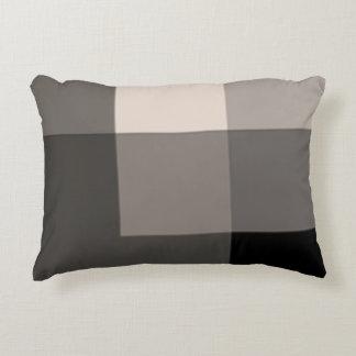 Almohada ligera del acento de las sombras de Brown
