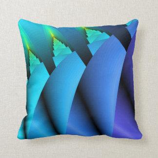 Almohada ligera del sofá de la vela: Azul,