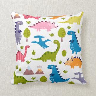 Almohada linda de los dinosaurios