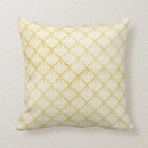 Almohada llevada blanca amarilla del modelo del da