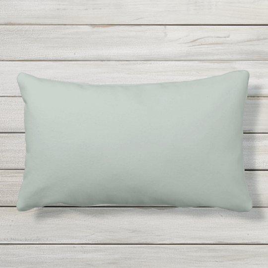 Almohada lumbar al aire libre del gris de ceniza
