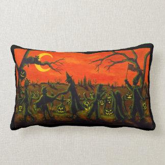 Almohada lumbar, truco o invitación de Halloween
