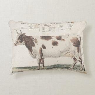 Almohada maravillosa y hermosa de la vaca del