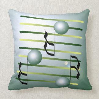 Almohada Música-temática del diseñador de Musico