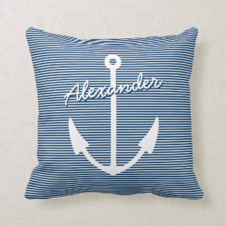 Almohada náutica de la decoración del cuarto de ni