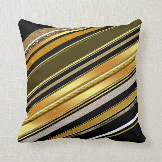 Almohada negra del amortiguador del estilo del art