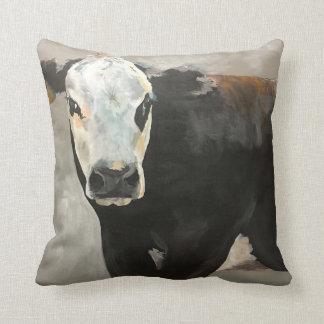 Almohada occidental de la vaca verdadera de la