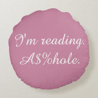 Almohada ofensiva de la lectura