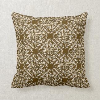 Almohada ornamental del acento de Nouveau del arte