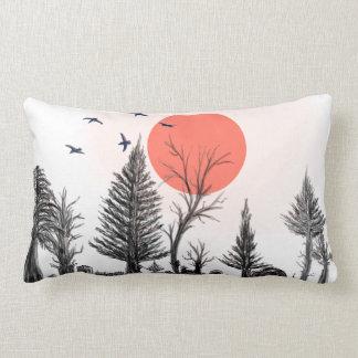 almohada oscura del bosque