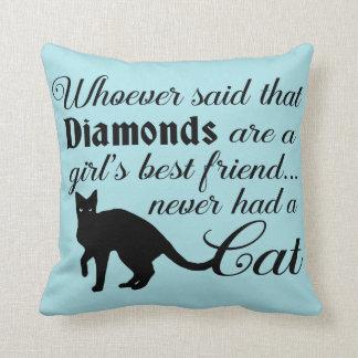Almohada para los amantes del gato
