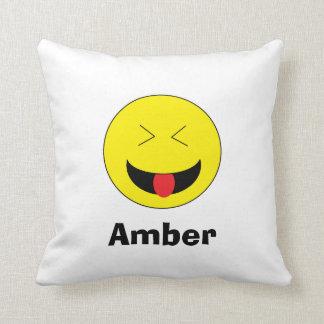 Almohada personalizada de Emoji