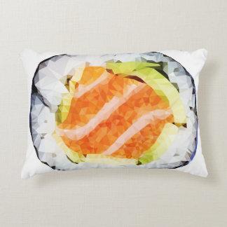 Almohada polivinílica baja geométrica del sushi