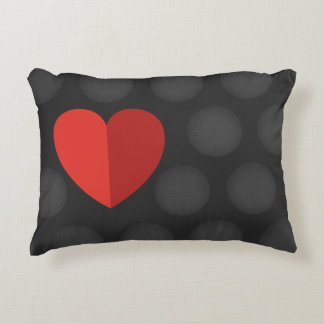 Almohada preciosa con el corazón